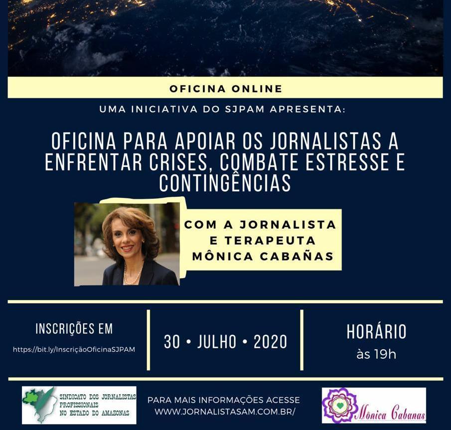 Sindicato dos Jornalistas oferece oficina de combate ao estresse