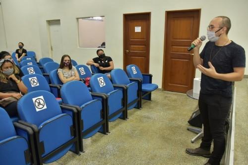 Equipe psicossocial do Cetam acolhe alunos na volta às aulas