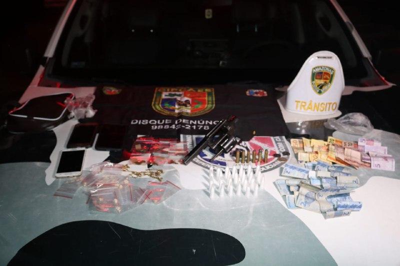 Na Compensa, operação da SSP prende seis em flagrante com revólveres