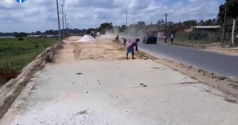 Wilson Lima autoriza retomada das obras da orla do União/Paulo Corrêa