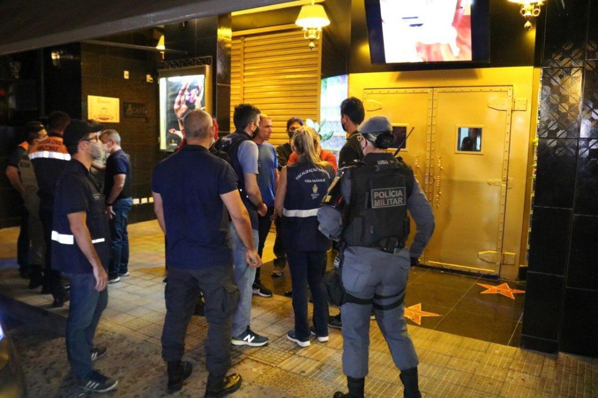 Oito bares são fechados durante fim de semana, em Manaus