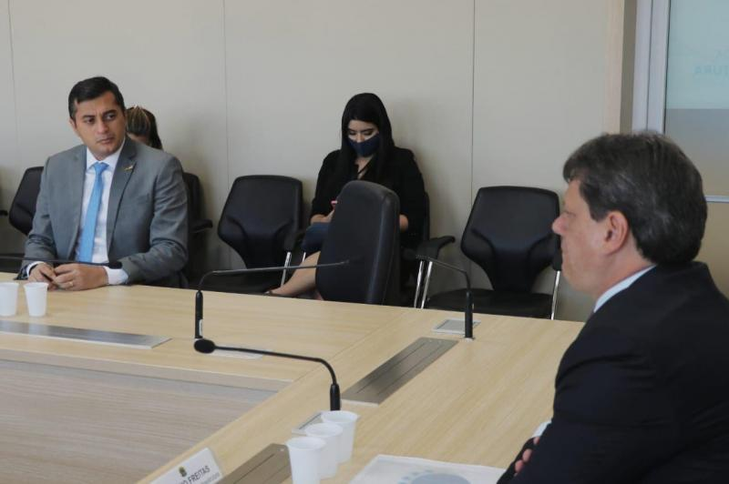 Em Brasília, Wilson Lima recebe confirmação de ministro da Infraestrutura sobre licitação da BR-319