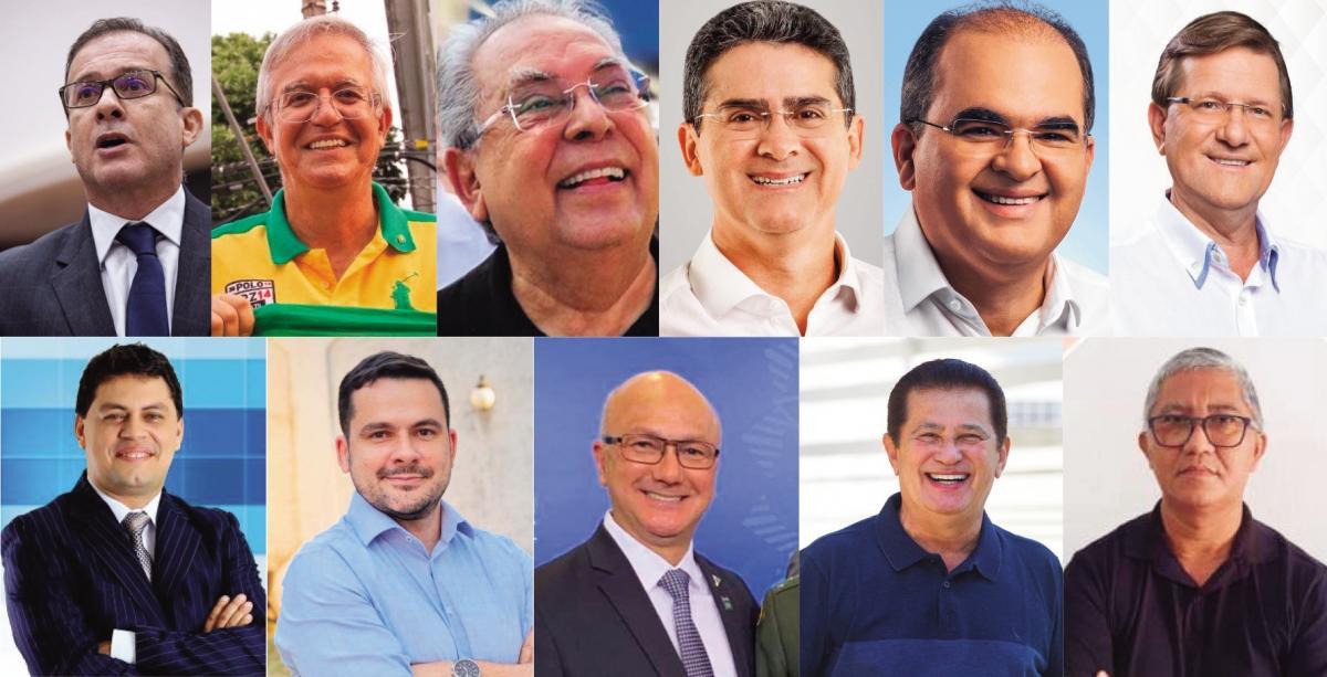Eleitor terá onze opções para candidatura a prefeito de Manaus