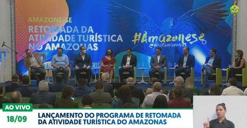 Lançamento do Programa de Retomada da Atividade Turística do Amazonas