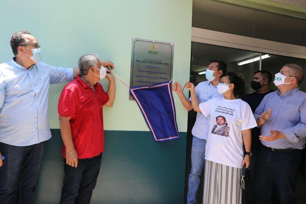 Wilson Lima inaugura Núcleo da UEA em Santo Antônio do Içá