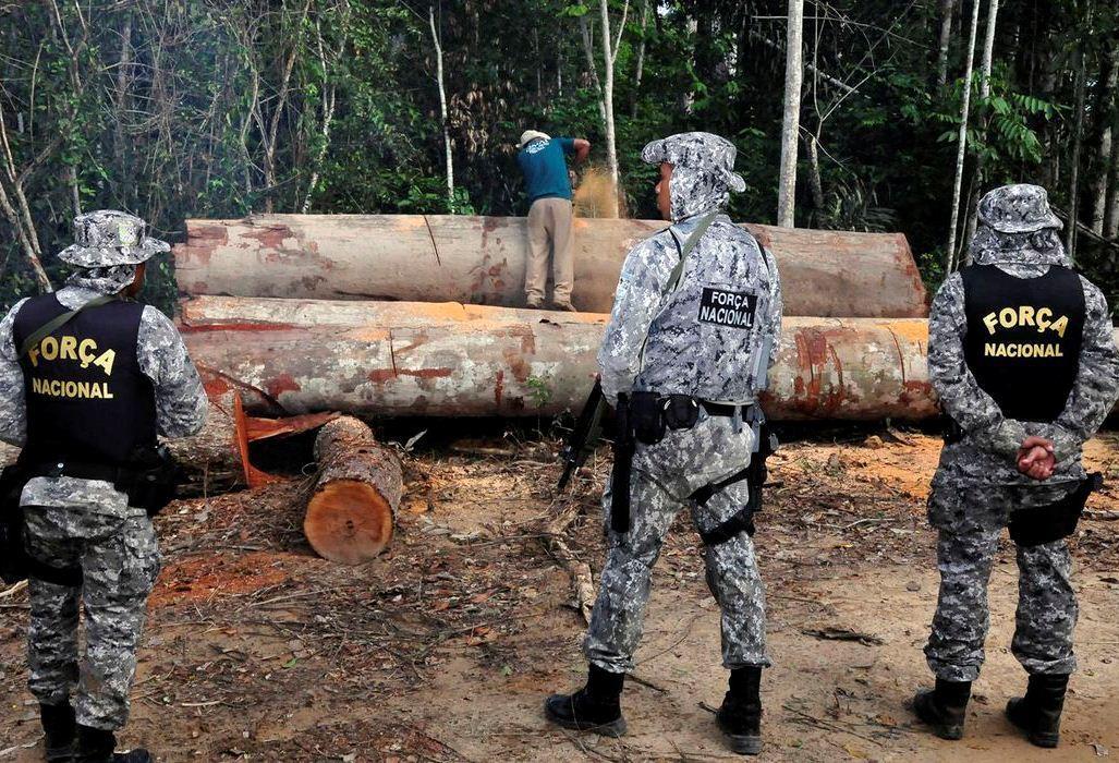 Governo federal prorroga uso da Força Nacional na Amazônia