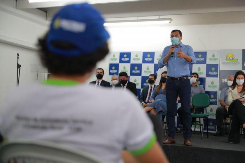 Governador Wilson Lima convoca 227 aprovados no concurso do Idam