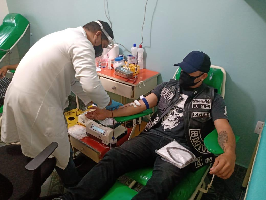 Banco de Sangue de Parintins recebe doadores de Barreirinha