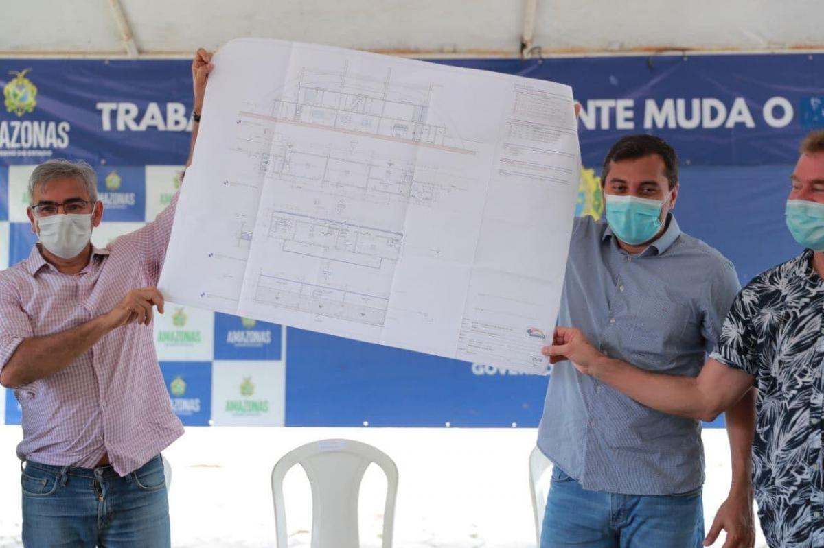 Wilson Lima anuncia reforma do estádio do município de Barreirinha