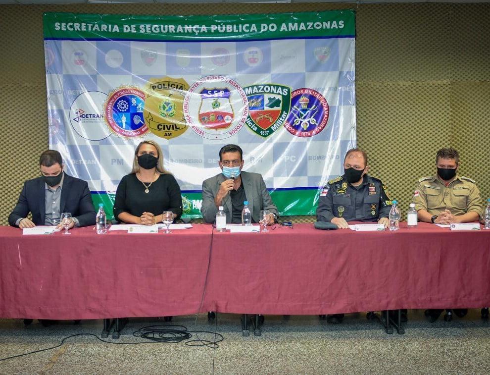 """Forças de Segurança do Amazonas anunciam operação """"Eleições 2020"""""""