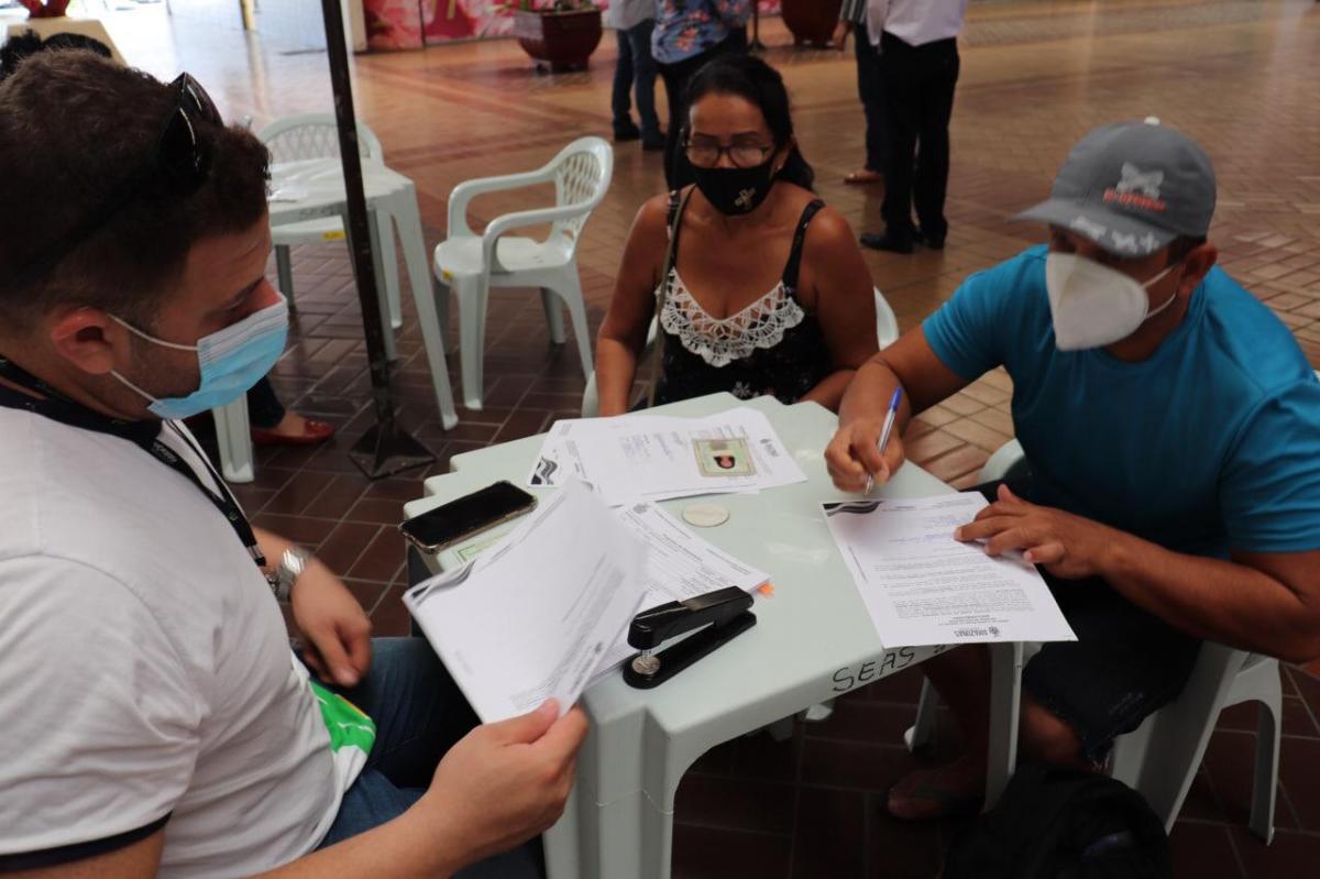 Governo realiza décimo pagamento do ano a beneficiários do Prosamim