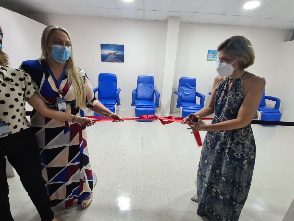 HPS 28 de Agosto inaugura sala para pacientes de alta médica