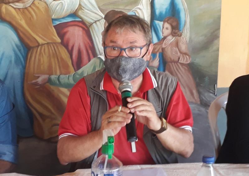 Dom Giuliano Frigeni reúne imprensa, nesta quinta-feira (19/11), para anunciar fechamento do Hospital Padre Colombo
