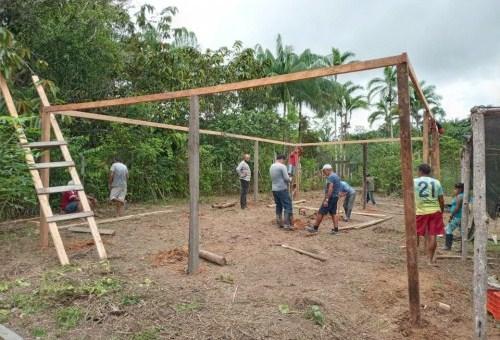 Idam conduz visitas de assistência técnica e extensão rural a famílias de Benjamin Constant