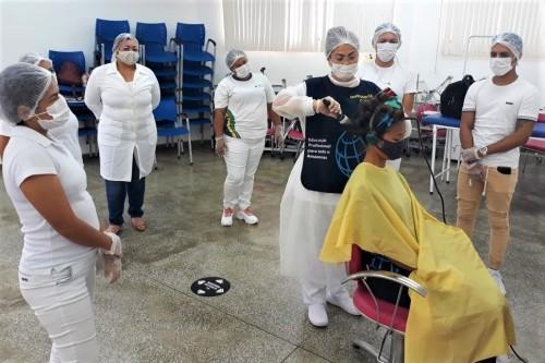 Governo do Estado promove curso de escovista no Centro de Convivência do Mutirão nesta quinta (03/12)