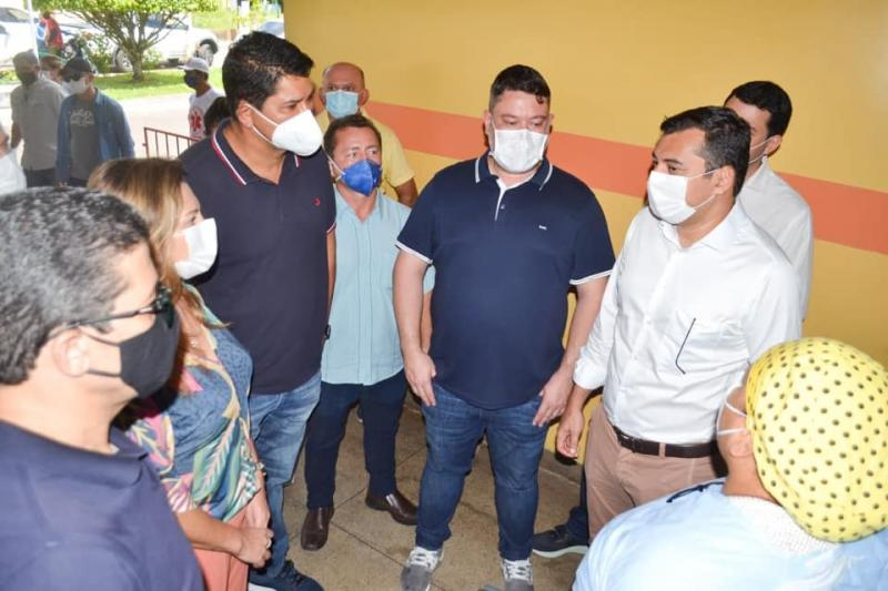 Articulação de Bi Garcia com o governador Wilson Lima garante repasse de mais de R$ 2,5 milhões ao hospital Padre Colombo