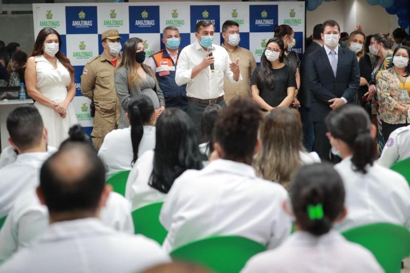 Bombeiros militares vão ampliar atendimento à população do interior na Policlínica Gilberto Mestrinho