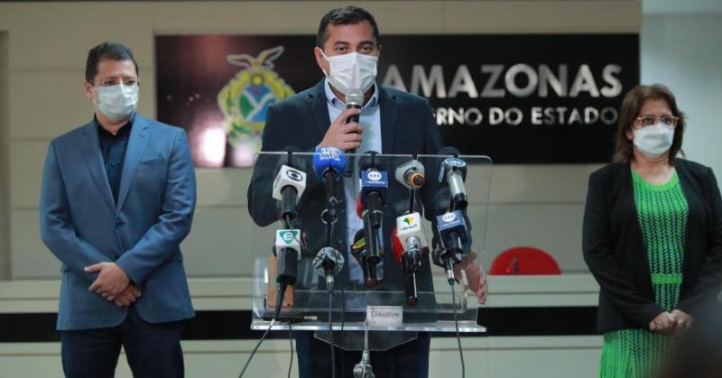 Wilson Lima anuncia medidas para conter avanço da Covid-19 nas festividades de fim de ano