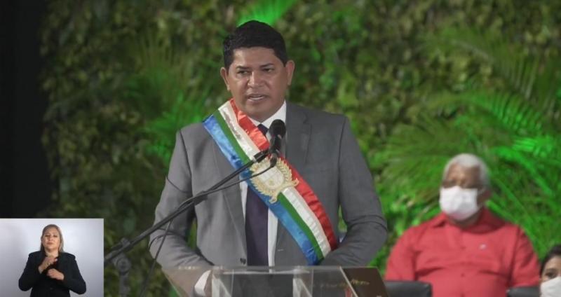 Cerimônia de posse do prefeito Bi Garcia e vice-prefeito Tony Medeiros