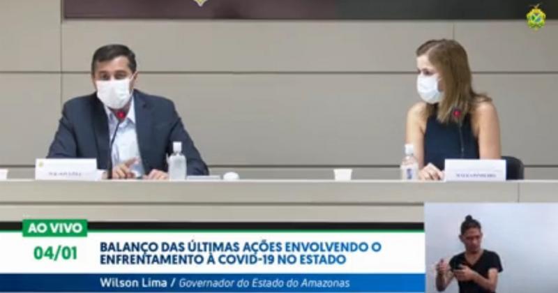 Wilson Lima faz balanço das últimas ações envolvendo o enfrentamento da Covid-19