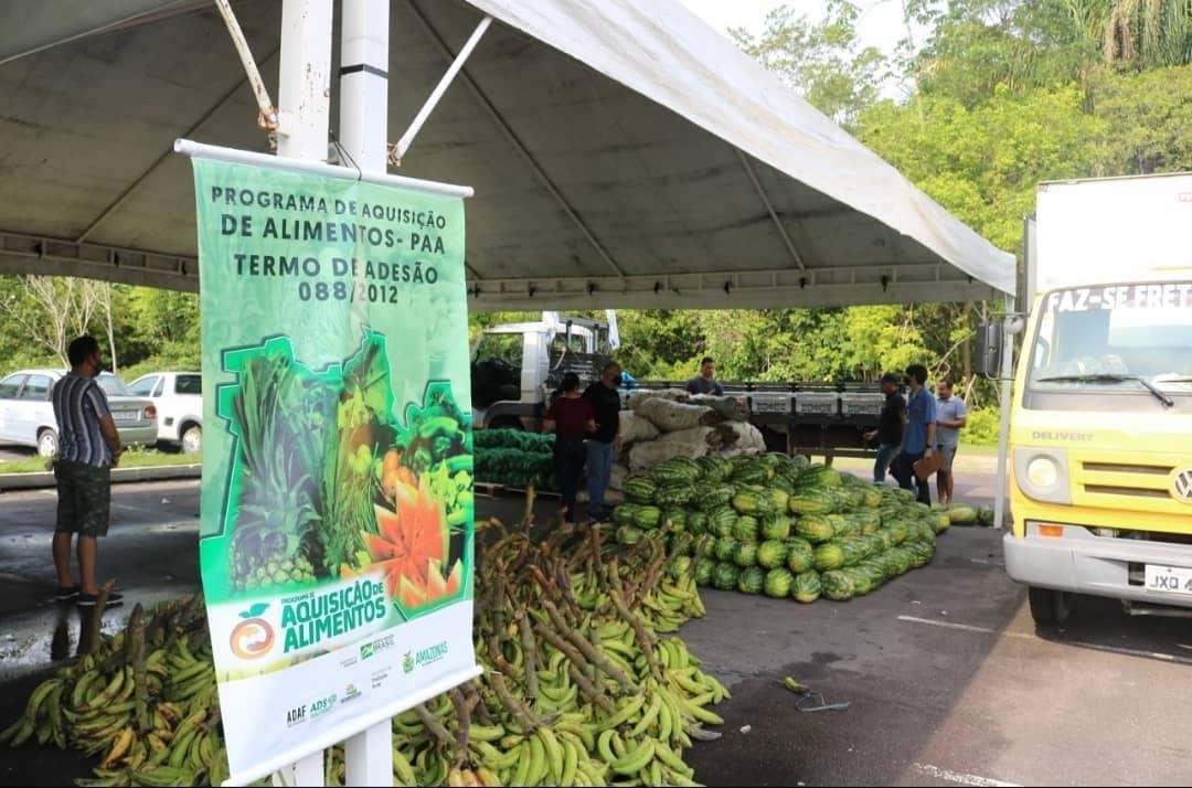 Amazonas é destaque na compra de produtos da agricultura familiar