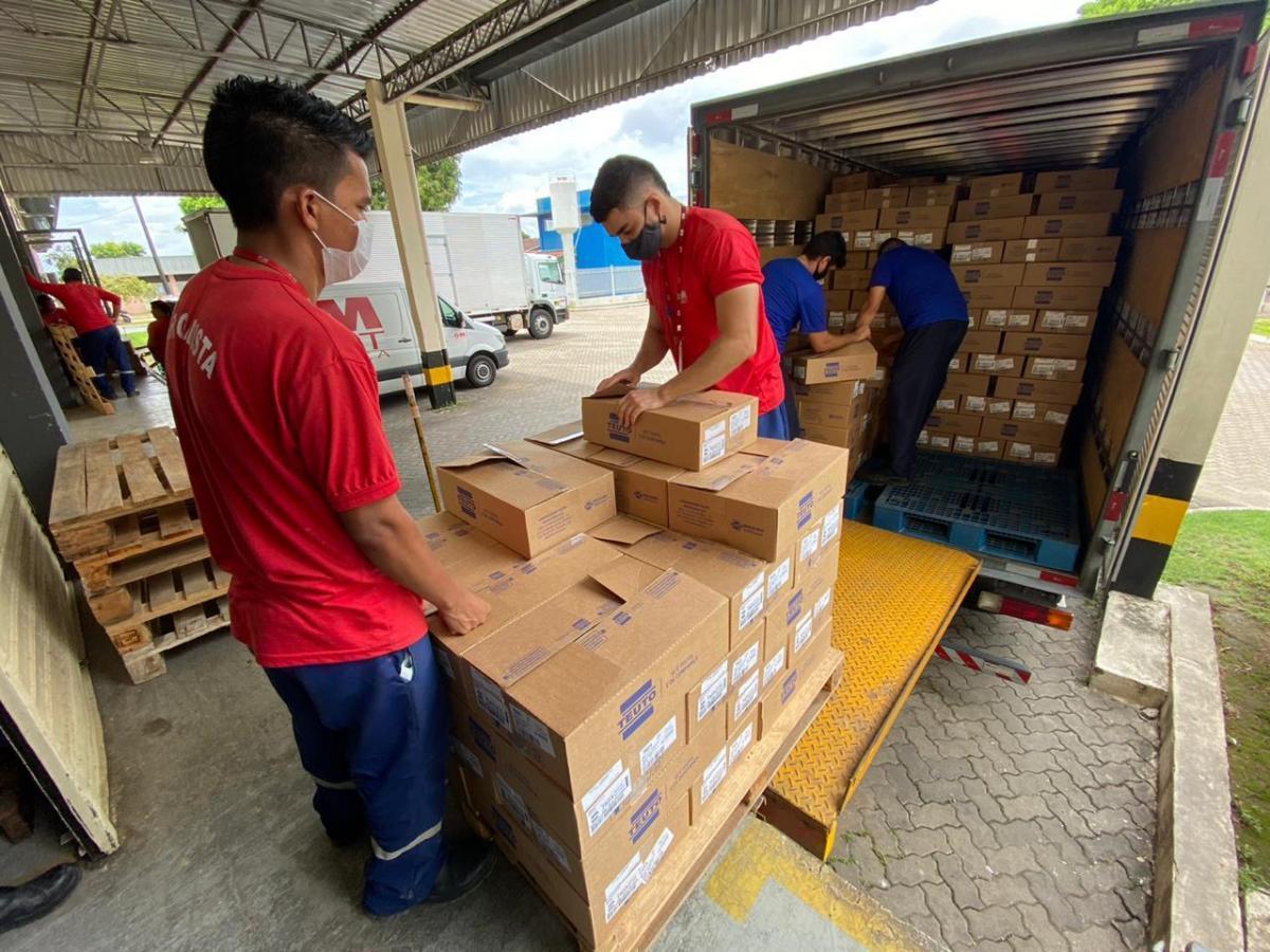 Cema recebe remessa de medicamentos para tratamento da Covid-19