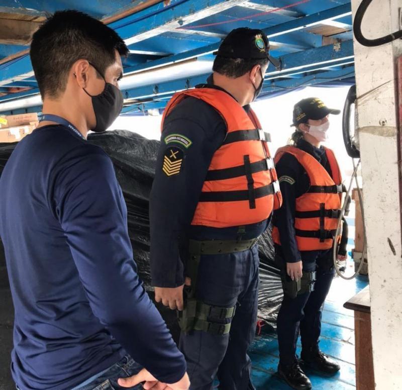 Com apoio federal, Operação 'Encontro das Águas' da Arsepam vai fiscalizar embarcações