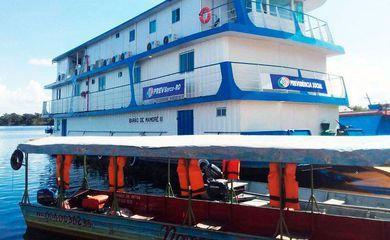 Barcos do INSS retomam missões no Amazonas