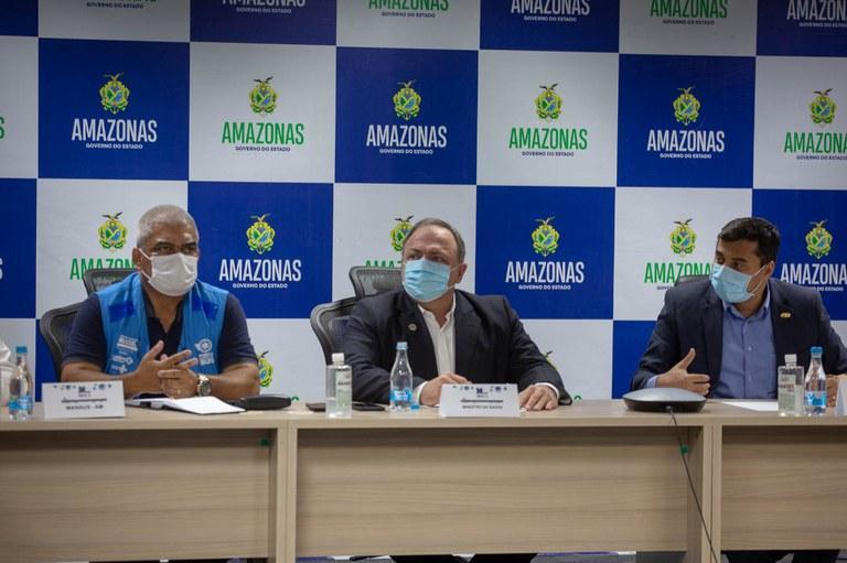 Amazonas deve ser o primeiro estado a vacinar toda população