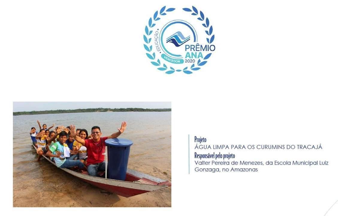 Projeto da Escola Municipal Luiz Gonzaga conquista prêmio nacional