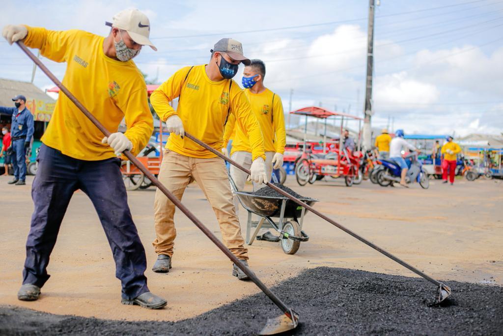 Prefeitura de Parintins retoma a operação tapa buraco