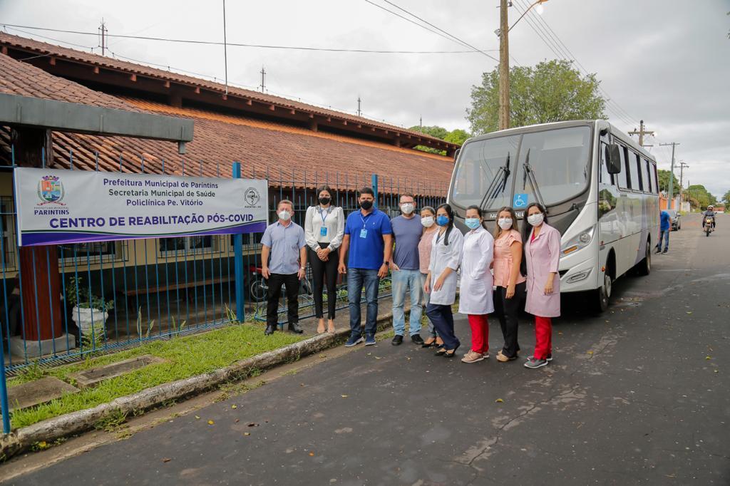 Centro de Reabilitação Pós-Covid é inaugurado em Parintins