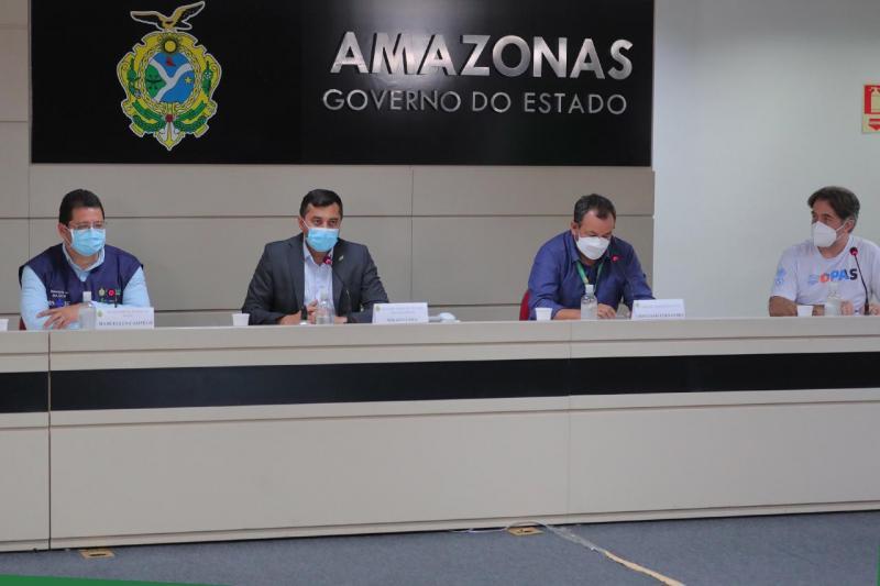 Estudo realizado com apoio do Governo do AM comprova eficácia da CoronaVac contra variante da Covid-19