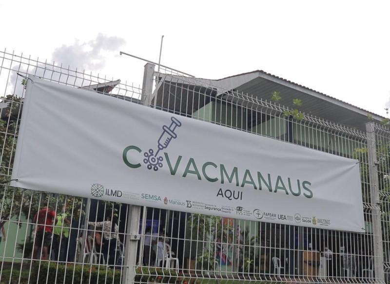 Pesquisa CovacManaus atende servidores interessados em participar de vacinação contra a Covid-19 até hoje (08)
