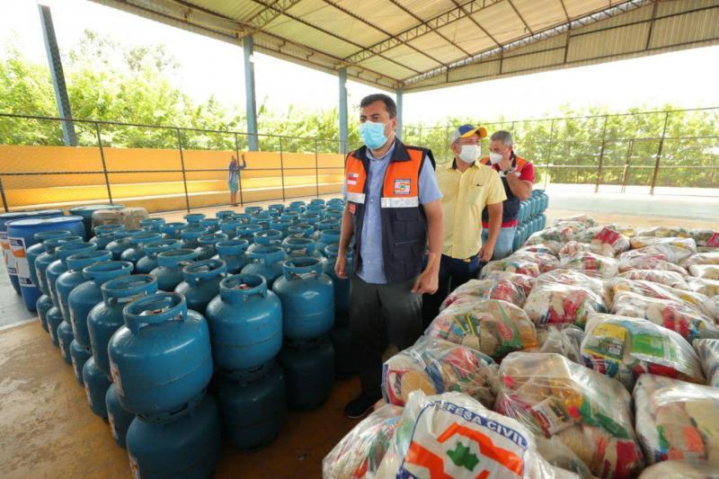 Wilson Lima acompanha Operação Enchente 2021 nos municípios de Juruá e Carauari