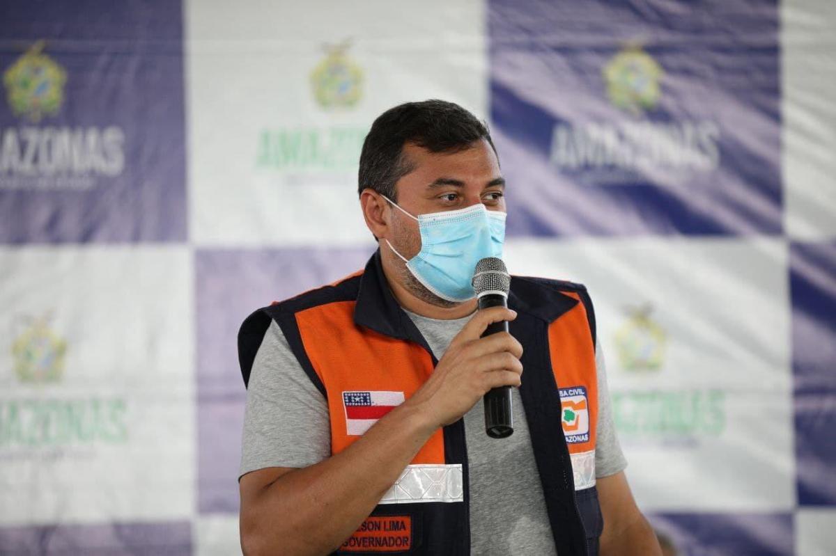 Wilson Lima anuncia reforma da UEA e de mais três escolas em Tapauá