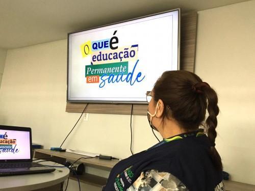 SES-AM planeja estratégias para educação permanente no interior