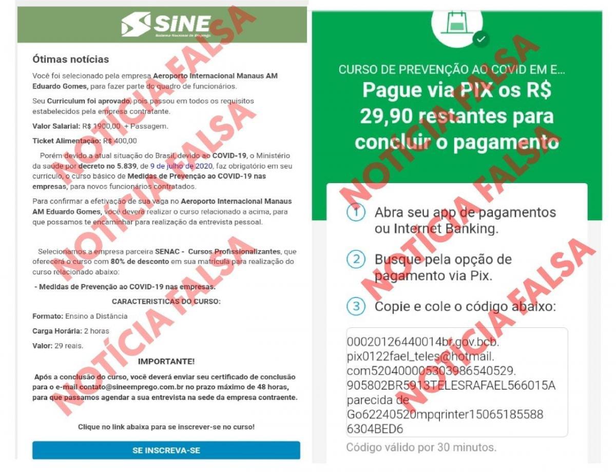 Setemp alerta sobre e-mails com falsa oferta de emprego