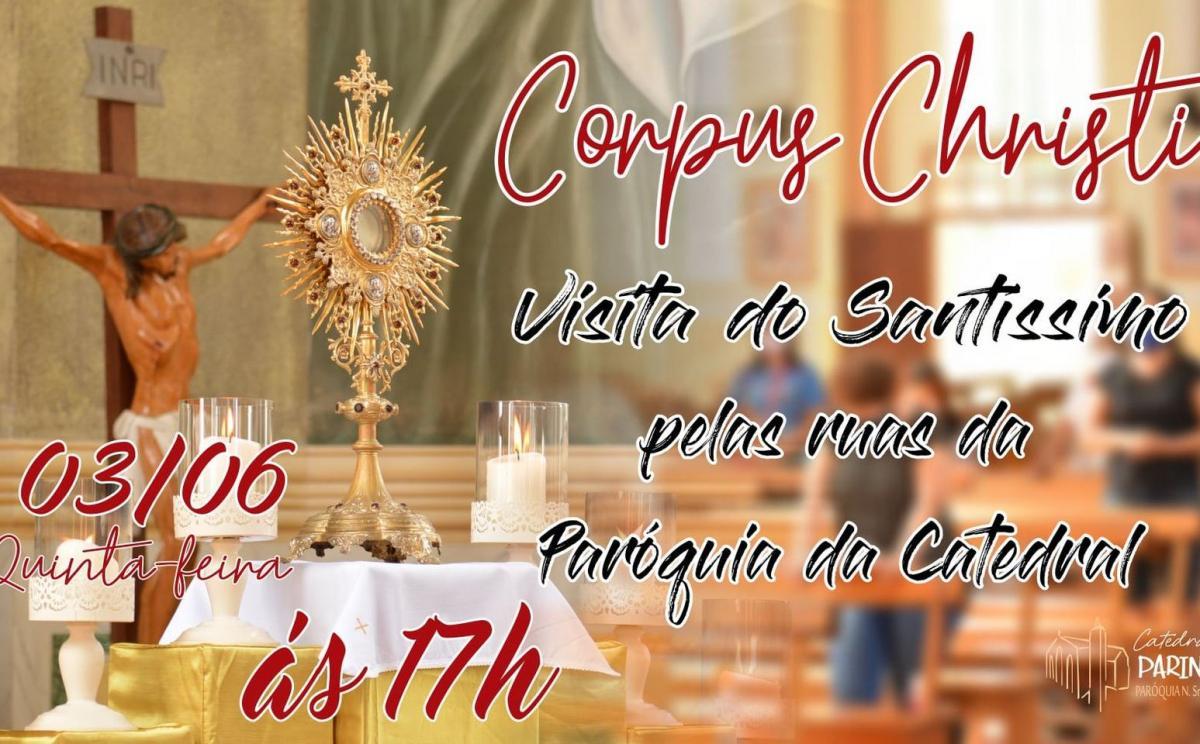 Diocese de Parintins divulga programação de Corpus Christi