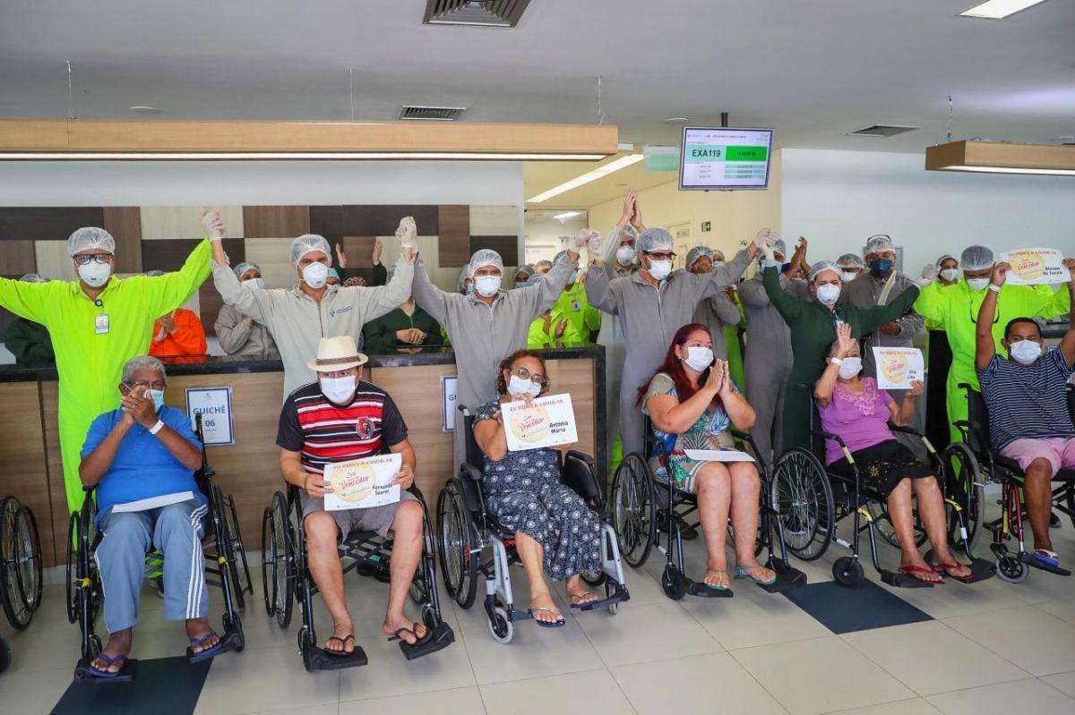 HPS Delphina Aziz supera 6 mil altas de pacientes curados da Covid-19