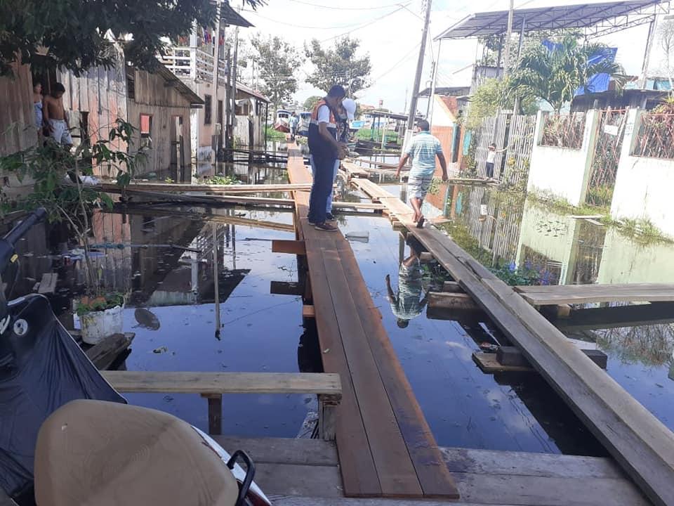 Rio Amazonas baixou 1 centímetro em relação ao dia anterior