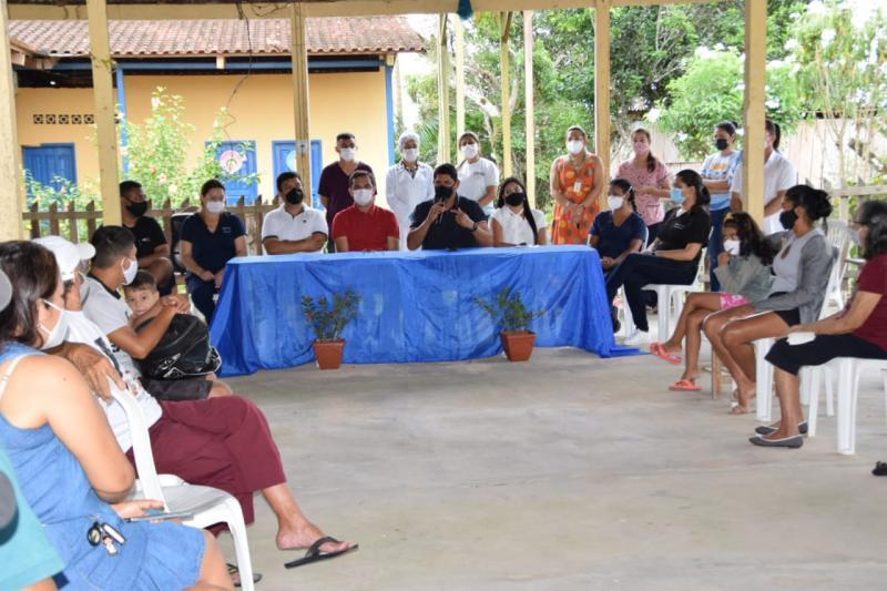 Em Parintins, Prefeitura inicia Projeto de Reabilitação Pós Covid Itinerante na comunidade do Aninga