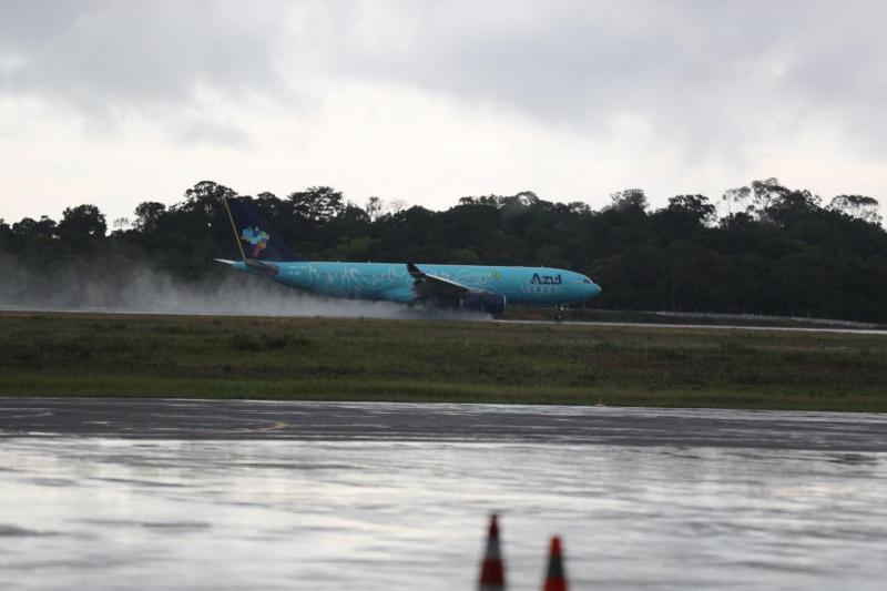Governo do AM e Azul anunciam acordo com plano de expansão e novos voos no Estado a partir do segundo semestre