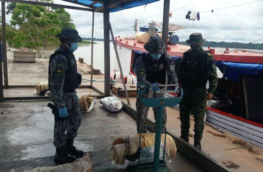 Agentes da Base Arpão apreendem mais de 300 quilos de pescado ilegal