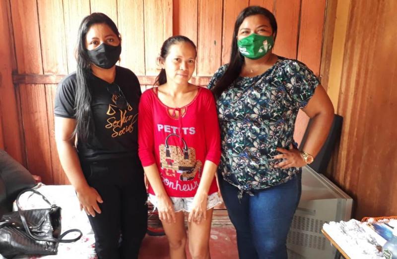 Serviço social da Secretaria de Educação de Parintins auxilia famílias prejudicadas pela pandemia