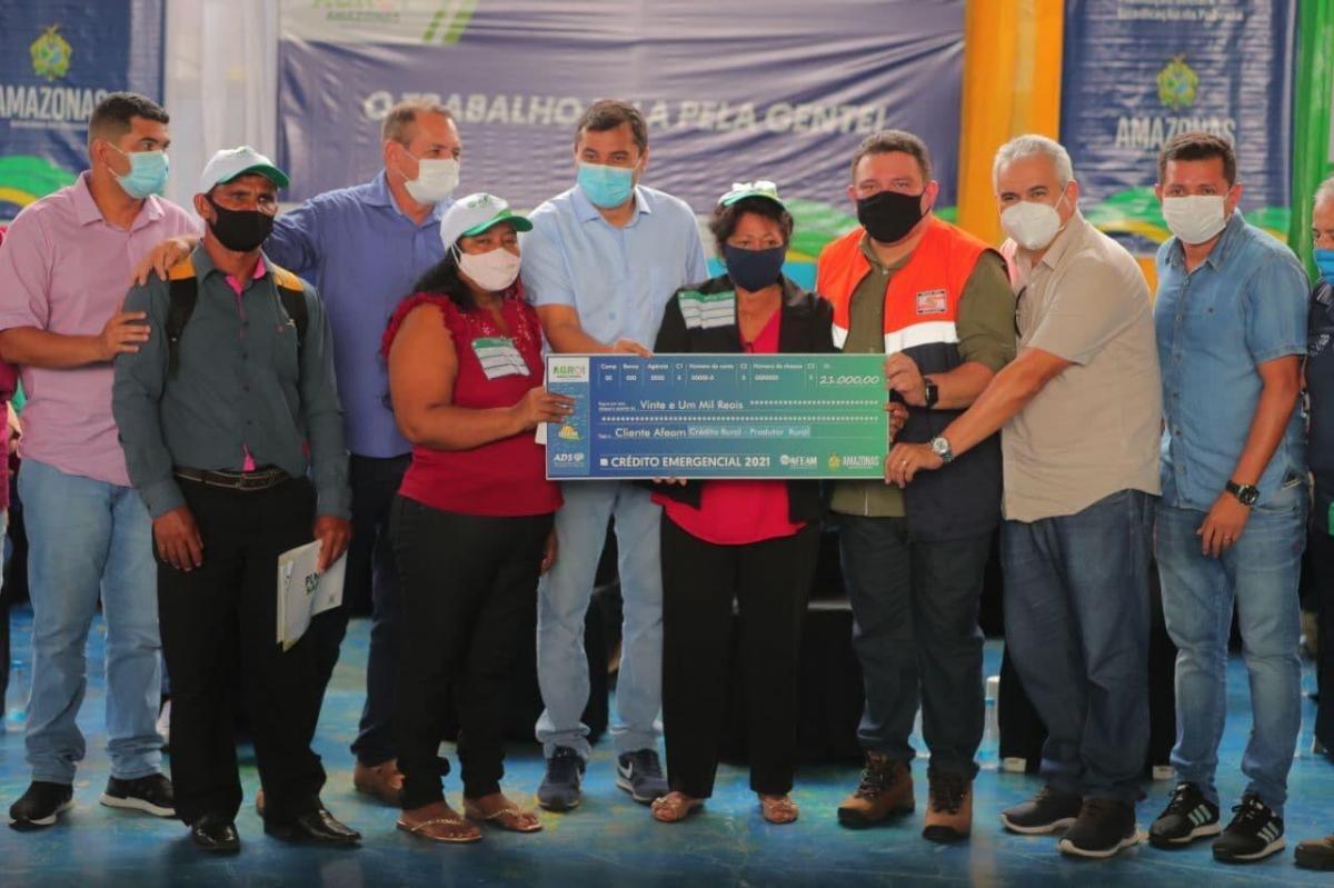 Wilson Lima coordena ações da Operação Enchente 2021 em Autazes