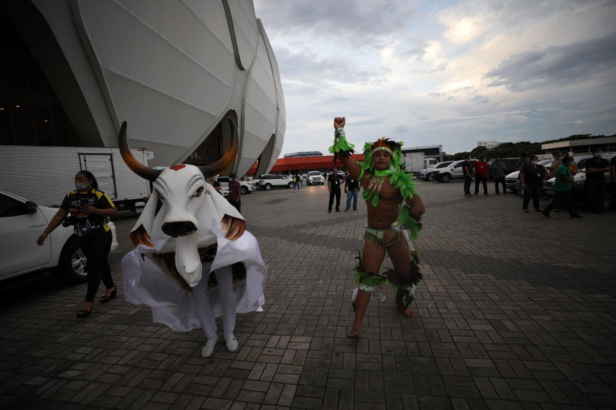 Mutirão de vacinação em Manaus contou com programação cultural