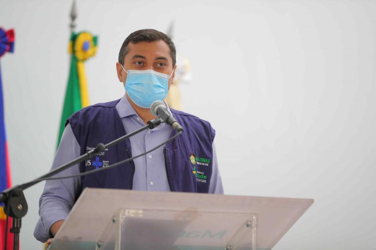 Governador Wilson Lima anuncia novo mutirão de vacinação contra Covid-19