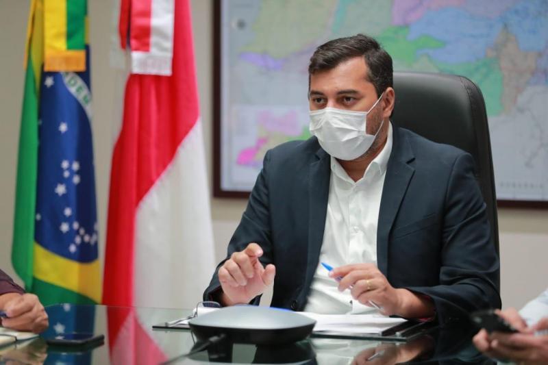Wilson Lima anuncia que Parintins será o quarto município a receber mutirão de vacinas contra a Covid-19