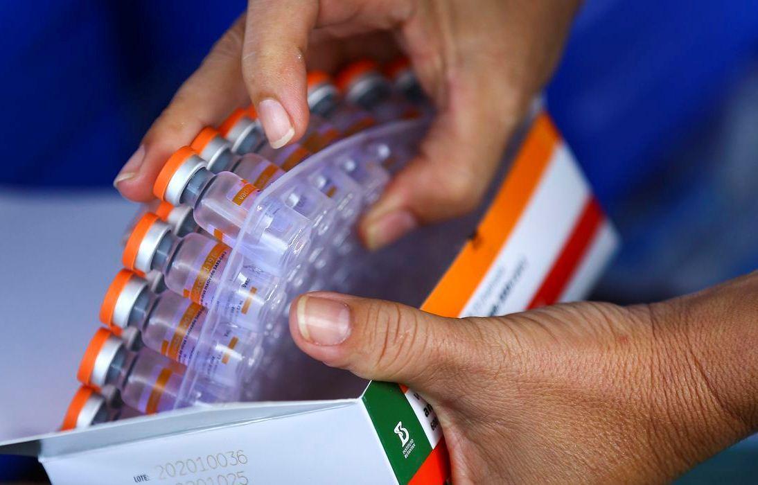 Butantan entrega mais 1,5 milhão de doses da vacina CoronaVac